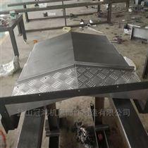 定做CNC机床钢板伸缩防护罩