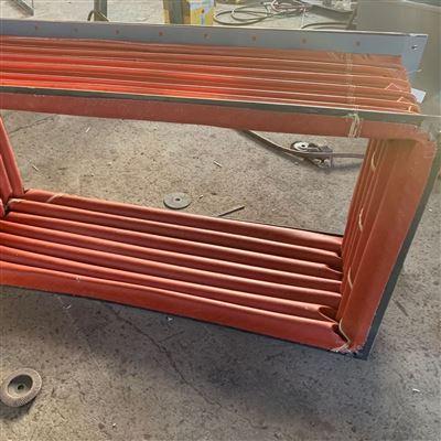 厂家定制方形齿轮箱密封风口伸缩软连接价格