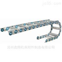 半封闭桥式钢铝拖链