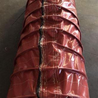 厂家定制唐山钢厂拉链式耐高温油缸保护套
