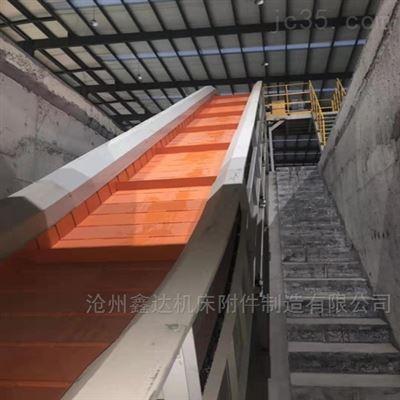 定制生产安徽机床链板排屑机 集中 输送线