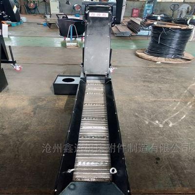 定制生产汽车冲压废料输送线   链板排屑机