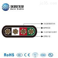 扁平移动CPE护套电缆