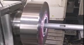 ITS平旋盤應用之石油閥門口袋座加工