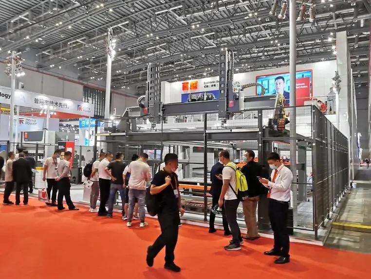 瑞士百超一第22届中国国际工业博览会现场采访